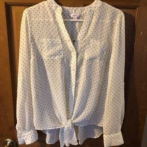 Candie's long sleeve blouse